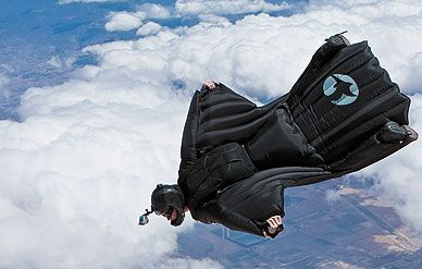 Jeb Corliss Professional Base Jumper Proximity Flight Master Skydiving Extreme Sports Outdoors Adventure