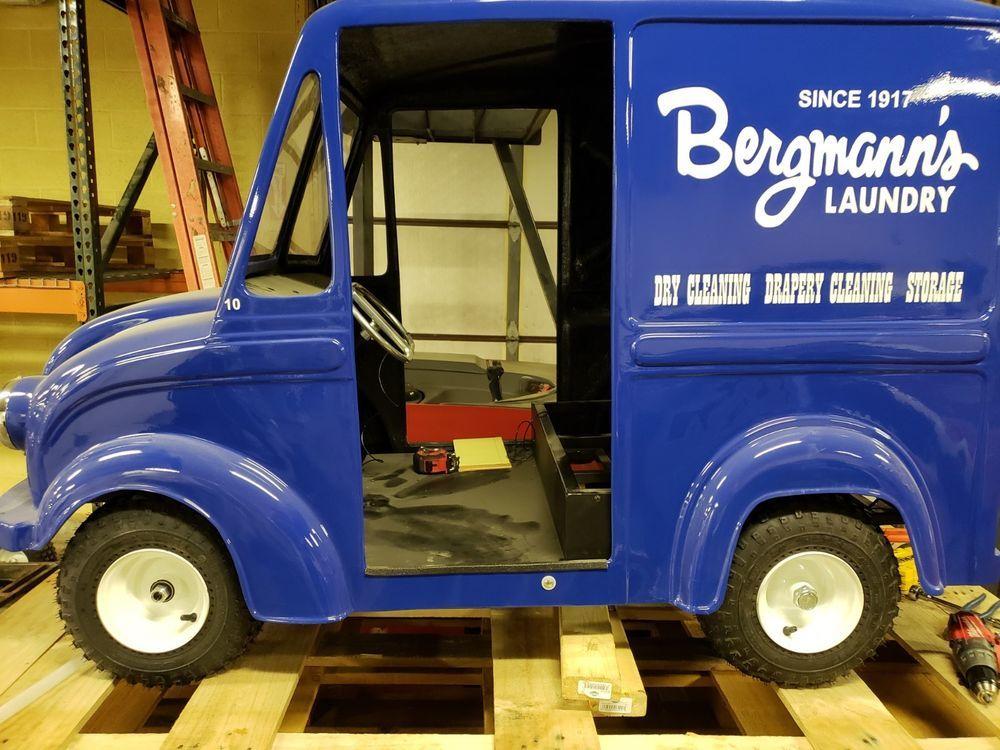 Divco Jr milk truck go kart cart fiberglass mold frame #Unbranded