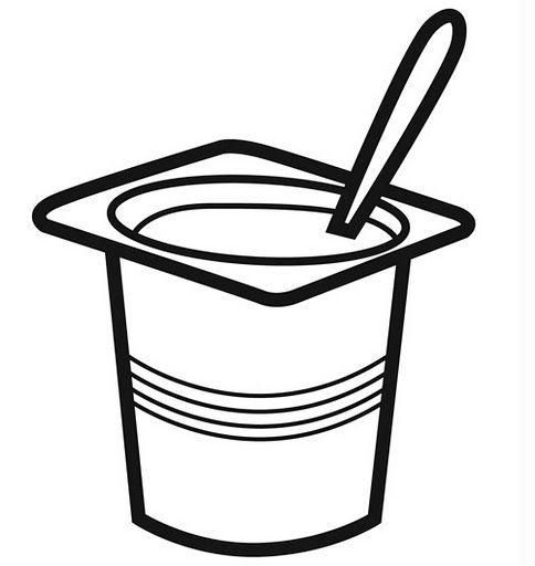 Yogourt Para Colorear Buscar Con Google Alimentacion Bebe