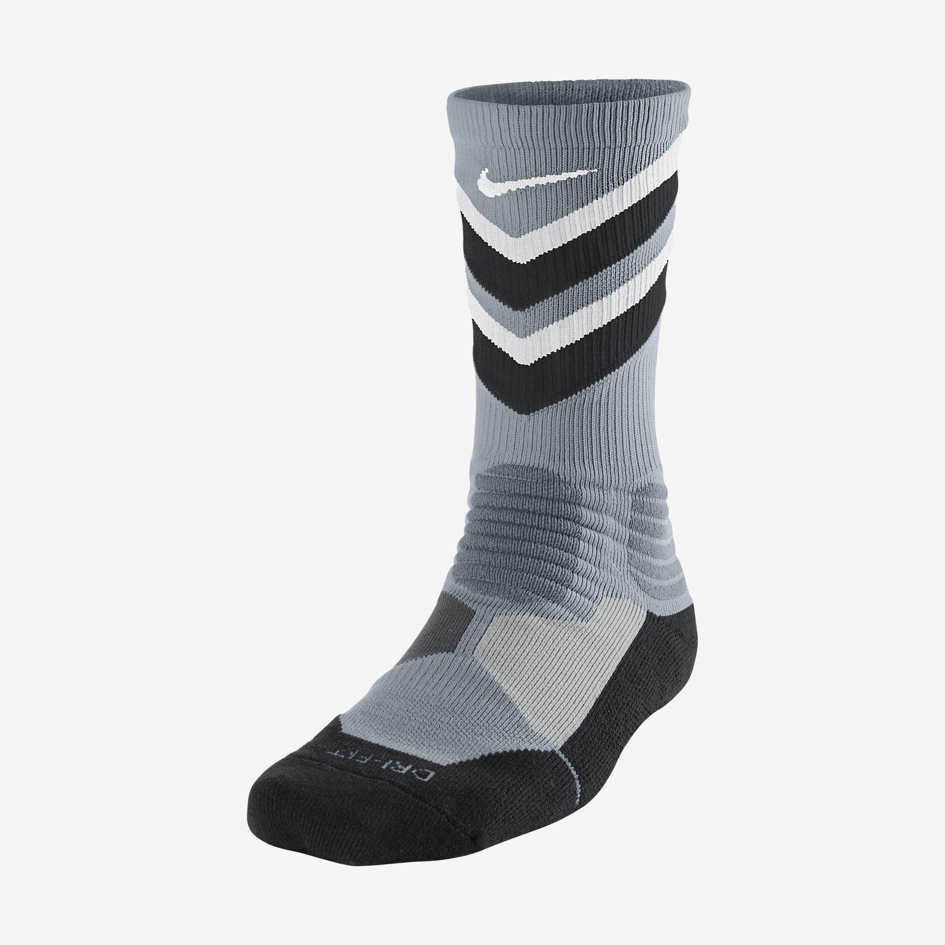 9eabbd3f3824 Nike Hyper Elite Chase Crew Basketball Socks. Nike Store