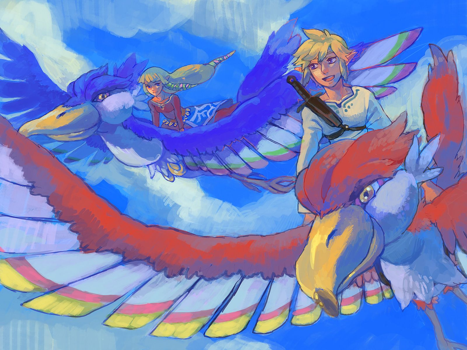 Skyward Sword 622333 Zerochan The Legend Of Zelda Skyward