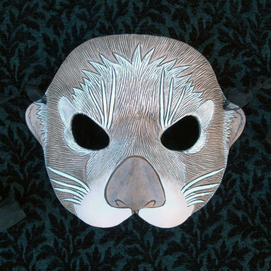 Sea Otter Mask by *merimask | Halloween | Pinterest | Otters ...