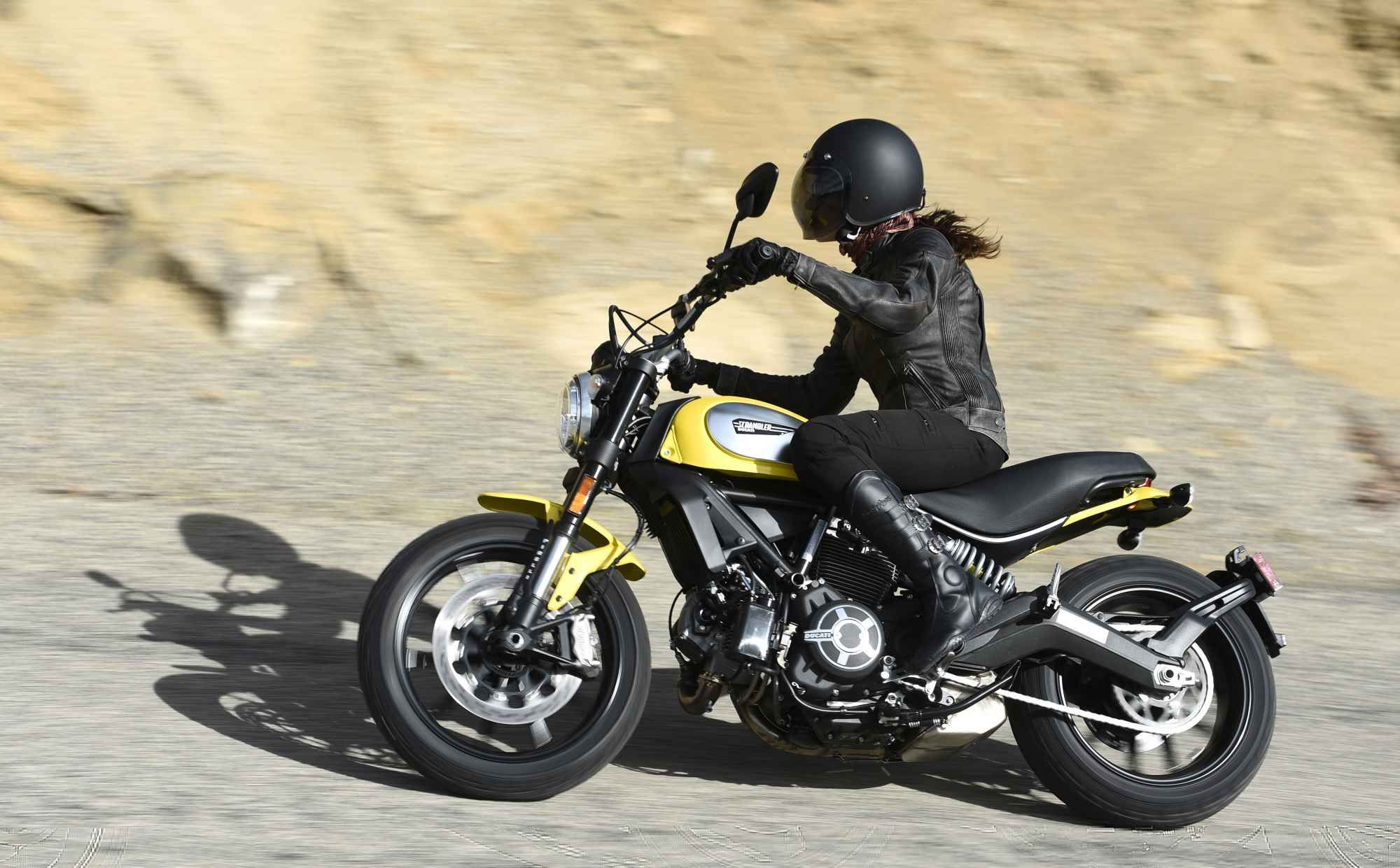 2015 Ducati Scrambler Icon First Ride Motorcycle Review Ducati