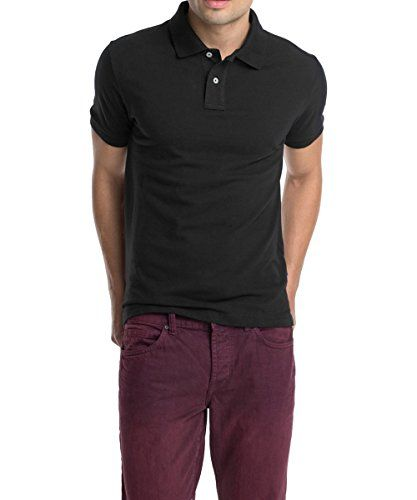 info for aa4c3 d1341 ESPRIT Herren Poloshirt Basic - Slim Fit, Größe- Large ...