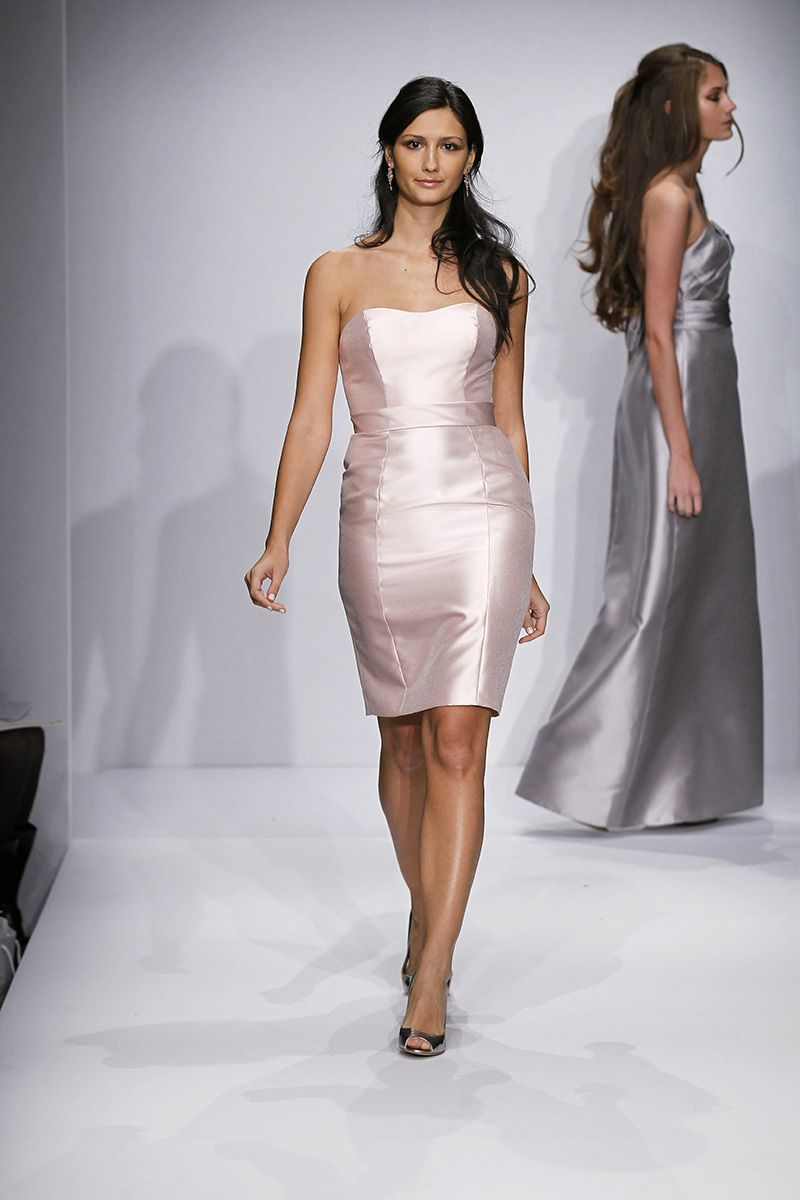 Best wedding dresses for the maids  Watters Bridesmaid Dresses Runway Show Fall   marriage