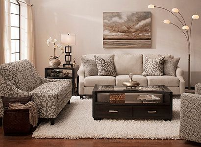 anastasia transitional living room collection | design tips