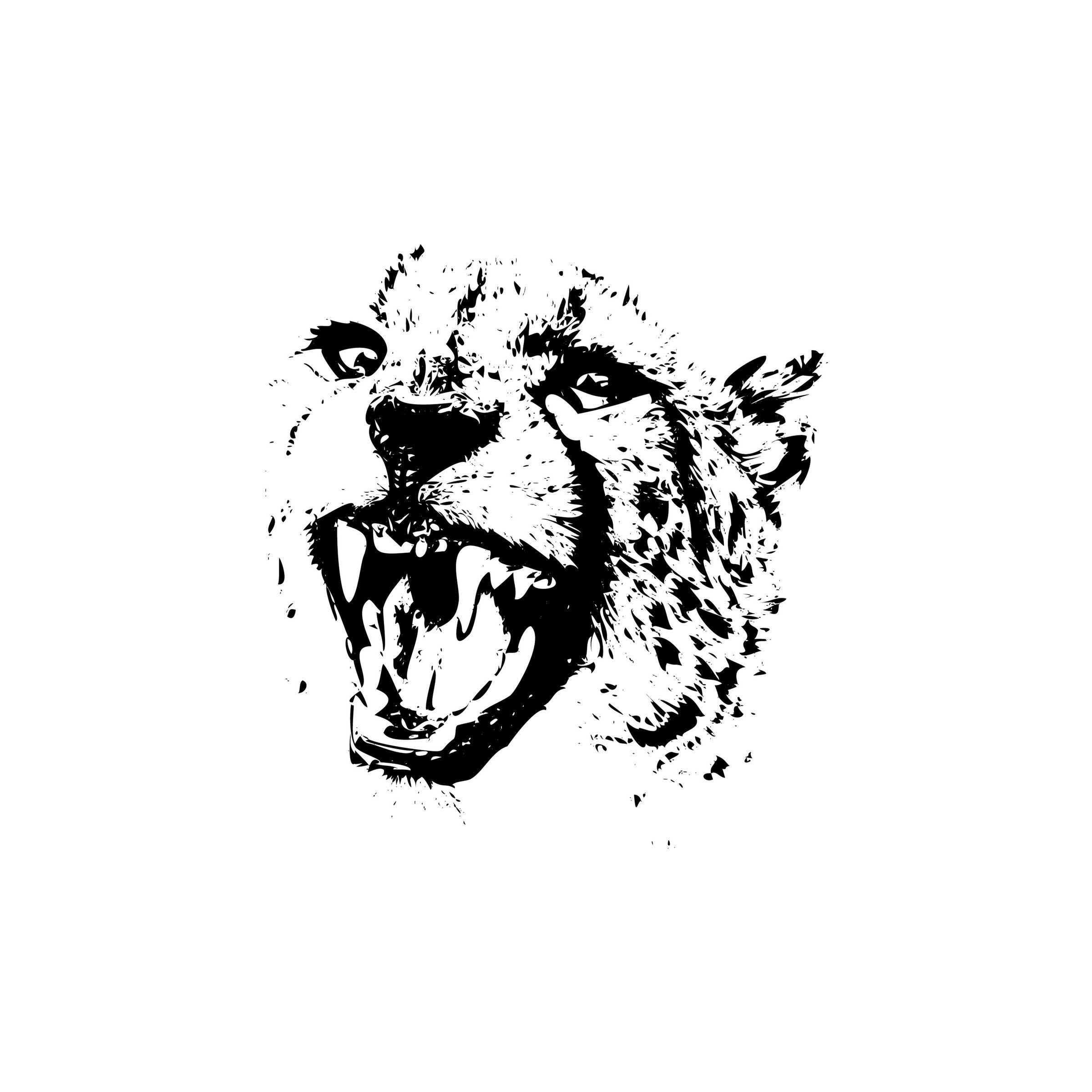 Leopard 1 Jaguar Tiger Big Cat Predator Logo.Svg .Eps .Png