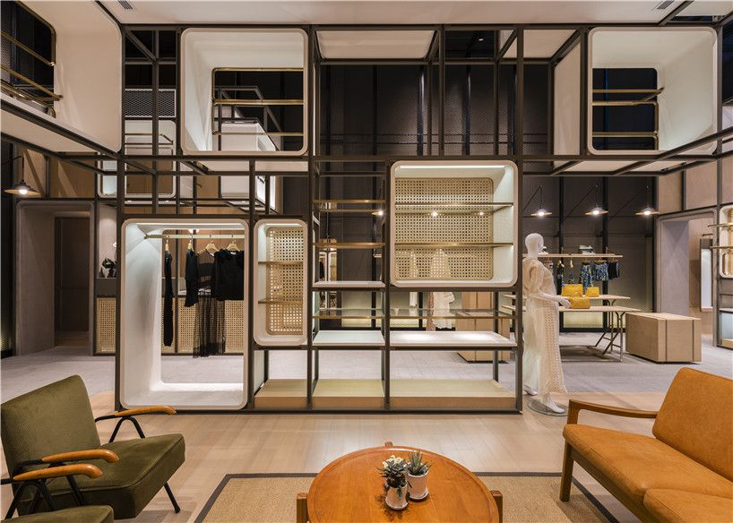 Chuang x yi concept store by lukstudio in shanghai pinterest