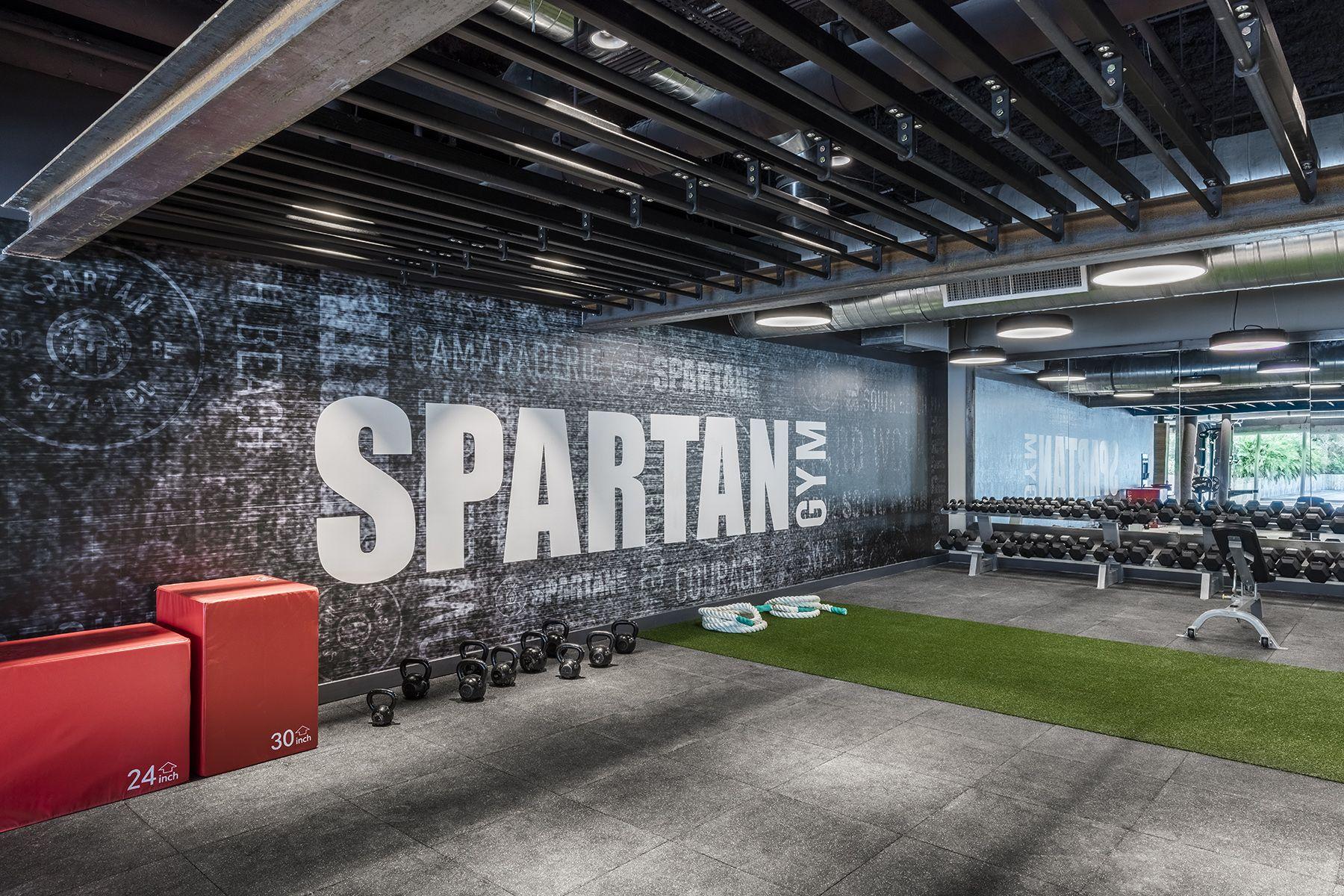 Tour hotel south beach s new spartan gym hyattsville rustic