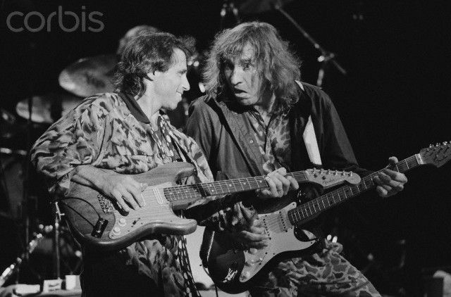 Nils Lofgren and Joe Walsh