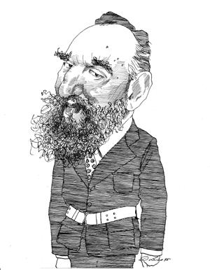 Fidel Castro Caricature American Artists Illustration