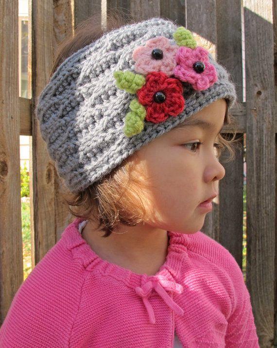 CROCHET PATTERN - A Walk in the Park - crochet headwrap pattern ...