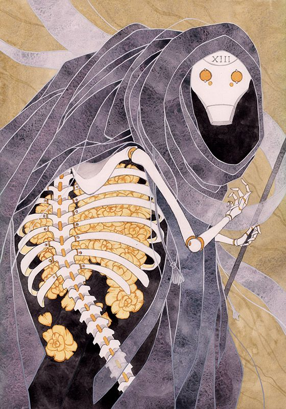 Kelly Airo Illustration | Death #tarot #tarotcarddeath