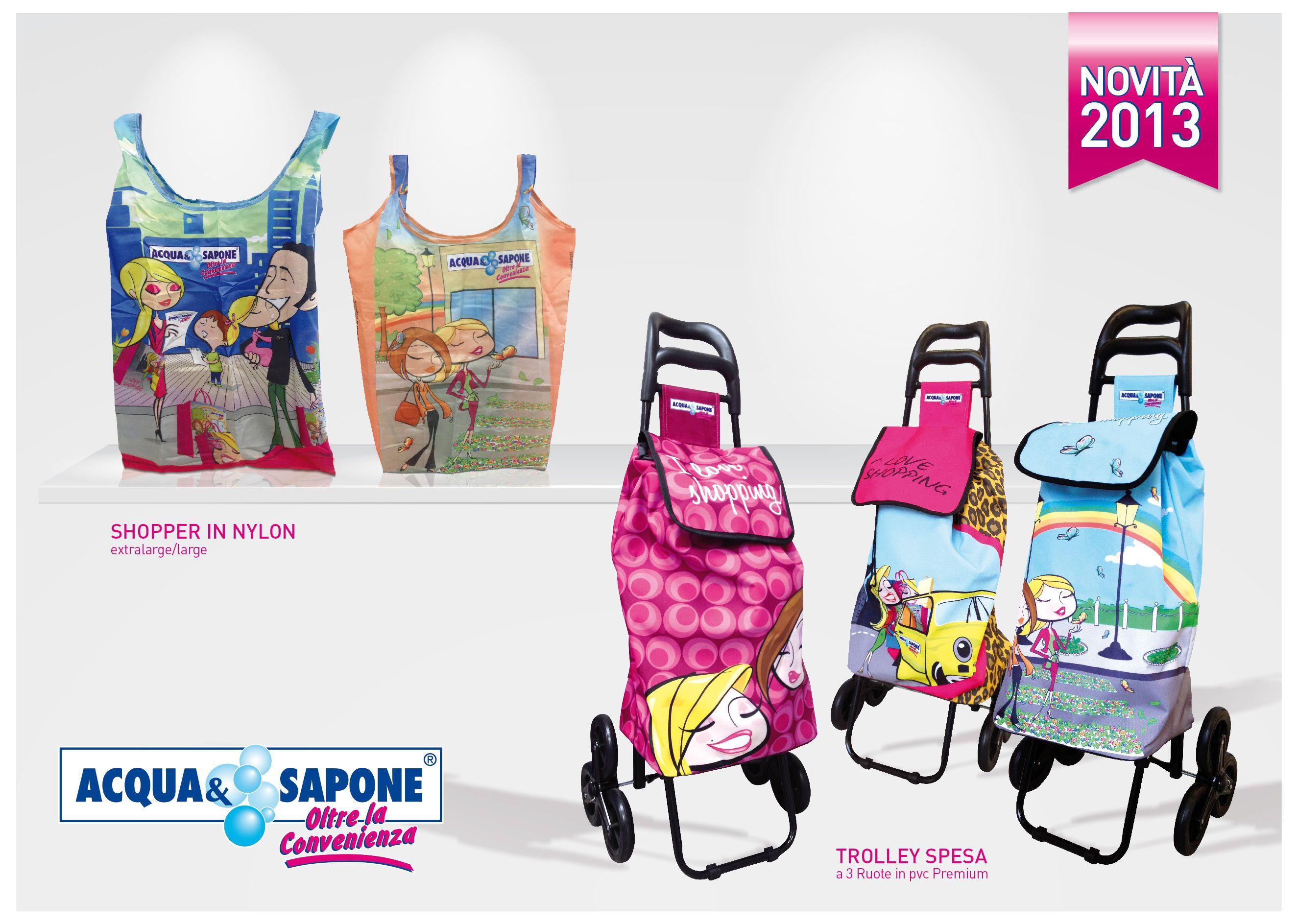 Captivating Acqua U0026 Sapone | #Shopper In Nylon E #Trolley Spesa.