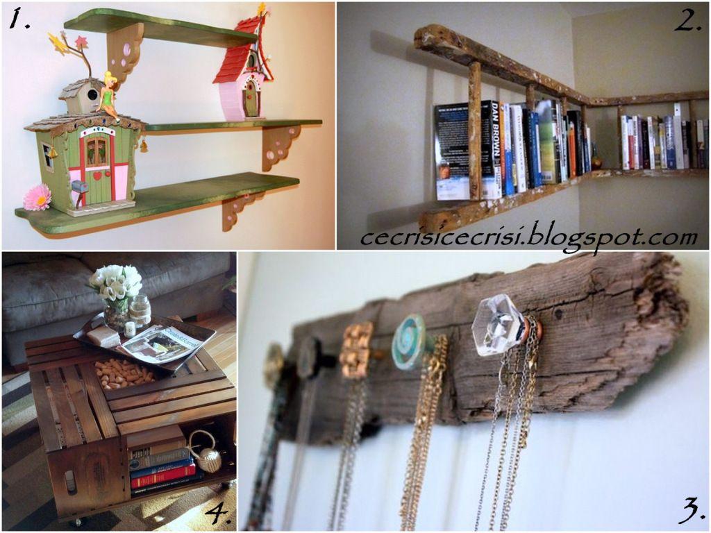 8 progetti fai da te di riuso creativo col legno dal - Fai da te casa ...