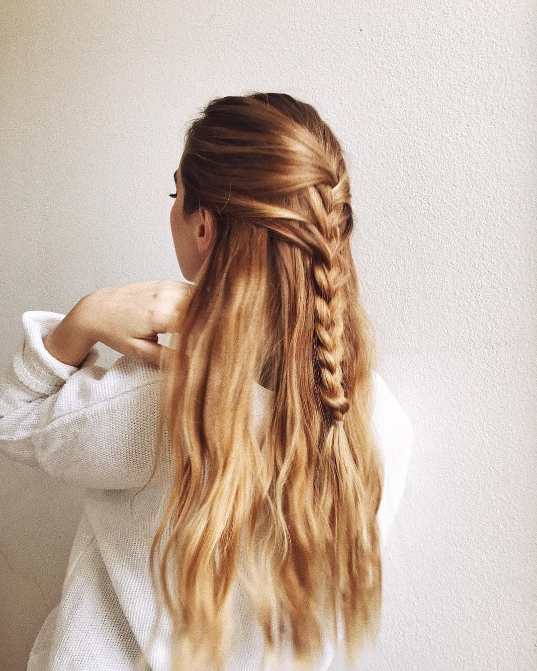 Balayage Strawberry Blonde Braid Hair In 2019 Strawberry