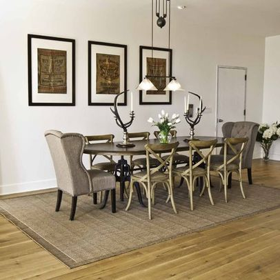 Upholstered Head Chairs With Cain X Back Side Chairs Dining