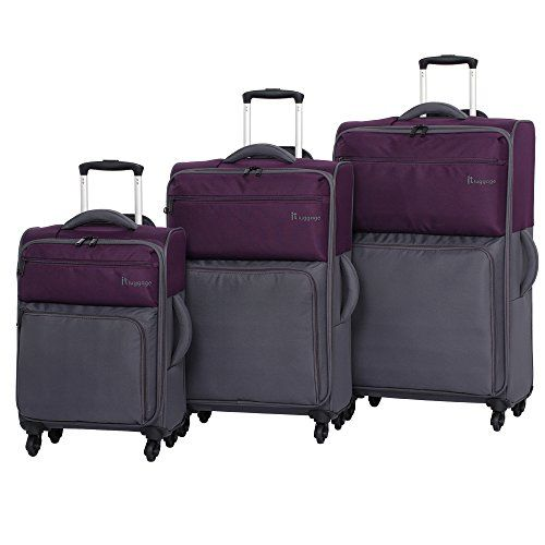 2006dc4c6dce Carry-on Luggage Collections   it luggage Duotone 4 Wheel 3 Piece ...