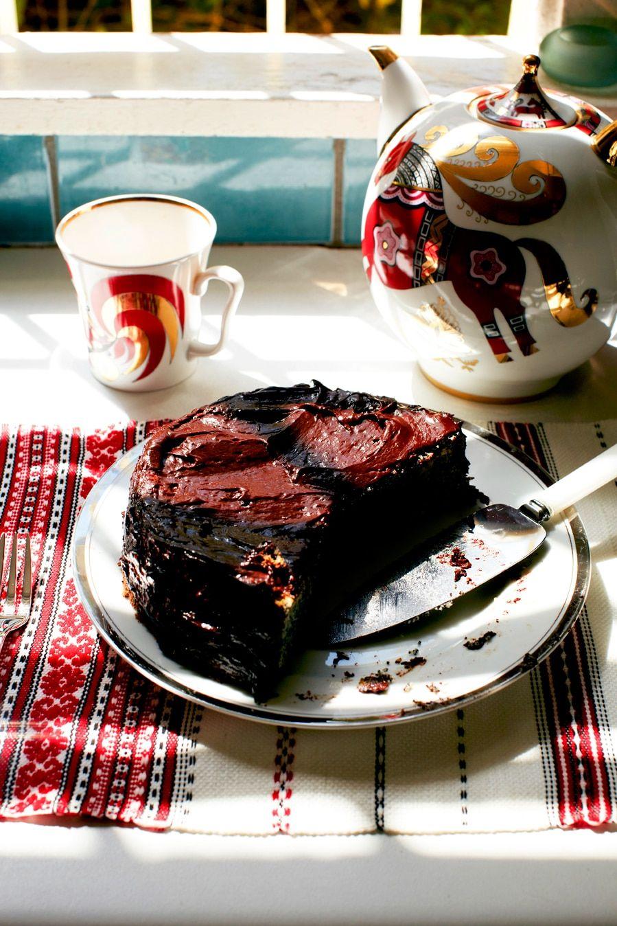 Poppy seed cake (makovyi torte) Recipe Poppy seed cake