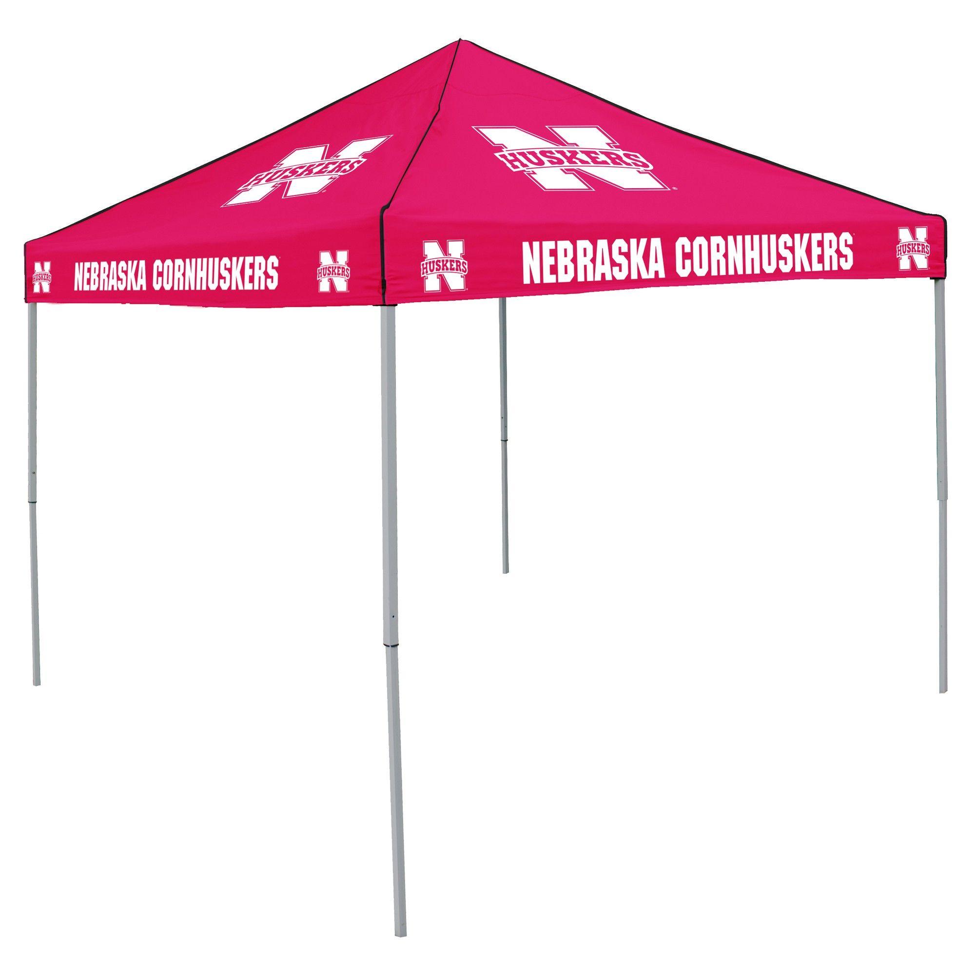 NCAA Nebraska Cornhuskers Logo Brands 9x9 Canopy Tent  sc 1 st  Pinterest & NCAA Nebraska Cornhuskers Logo Brands 9x9 Canopy Tent | Canopy ...