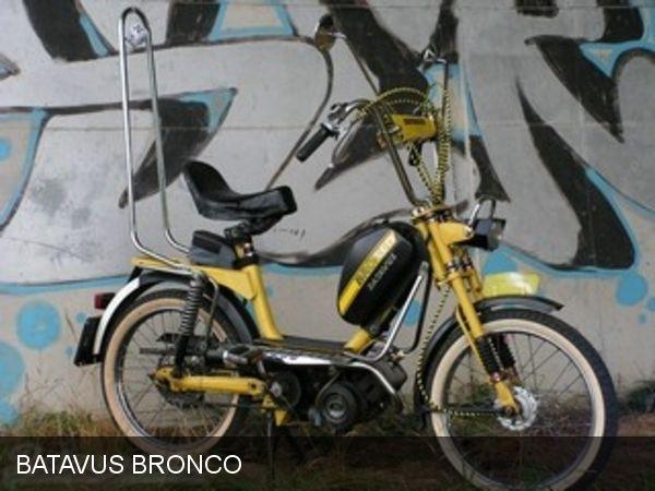 Batavus Bronco 1975 Bromfiets Bronco Brommers