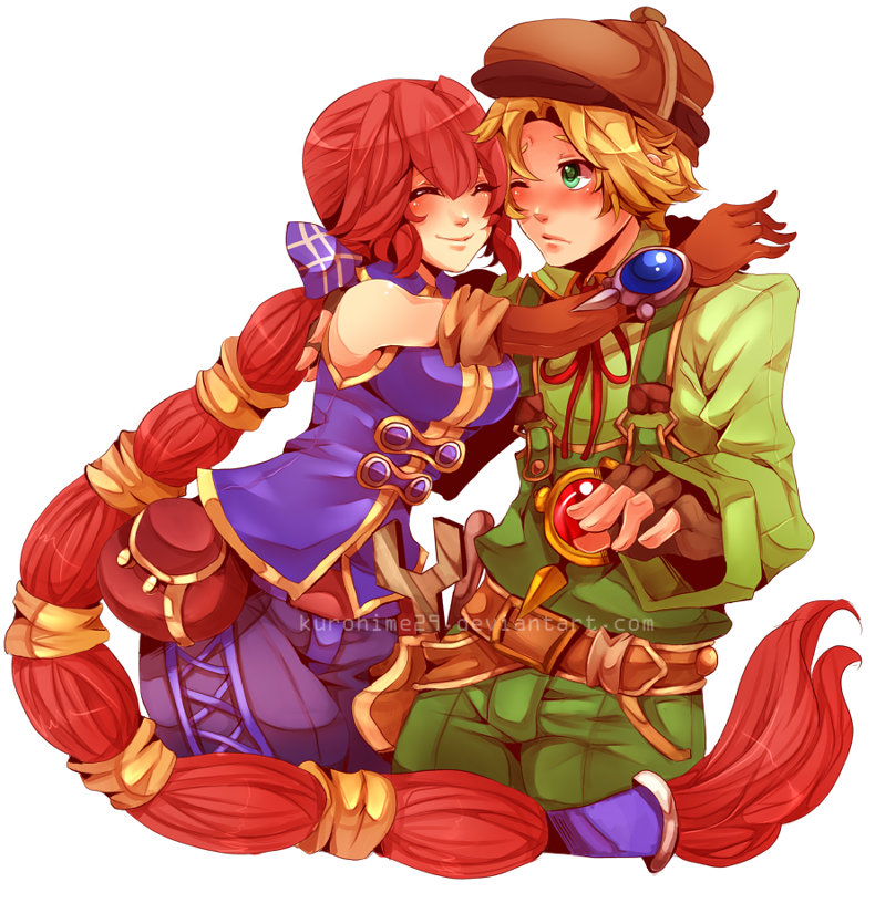 Dark Cloud 2 Max and Monica by