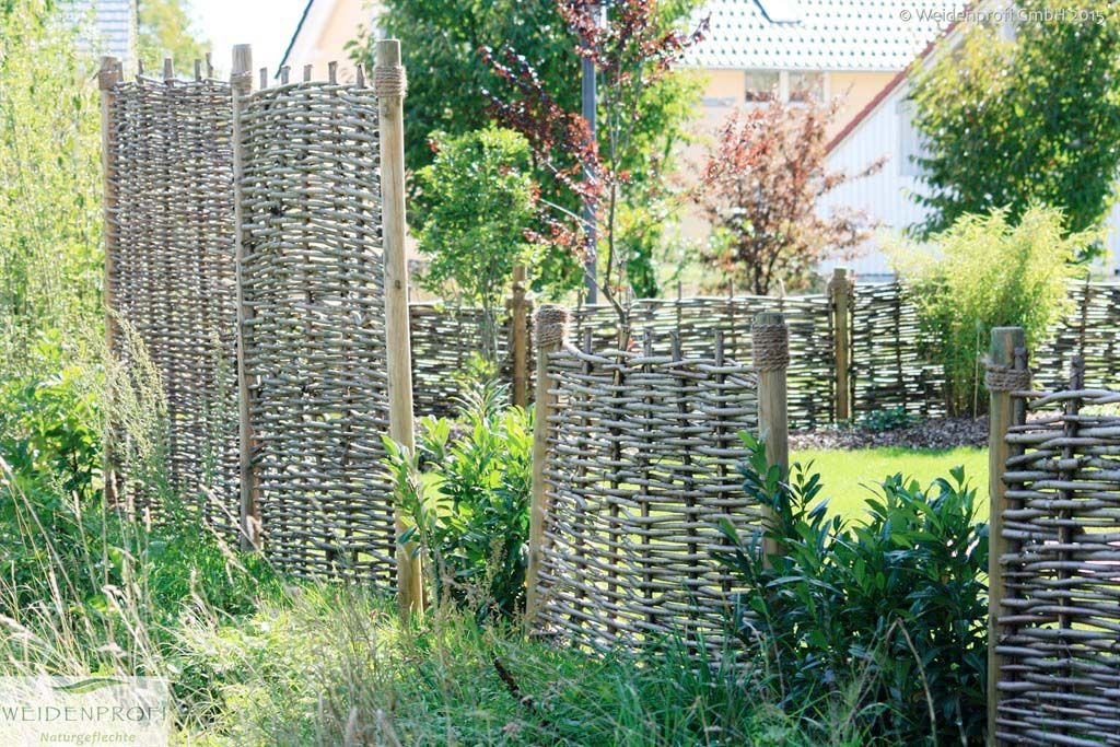 Bildergarlerie Serie BALDO   Weidenzäune ohne Rahmen ...
