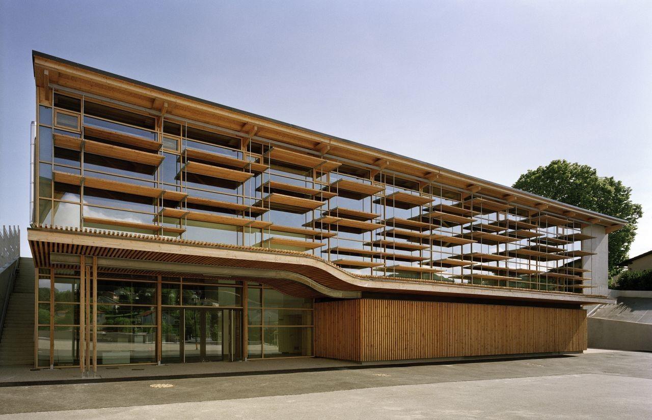 Gallery of Sunny Gymnasium / Tekhnê Architectes - 1