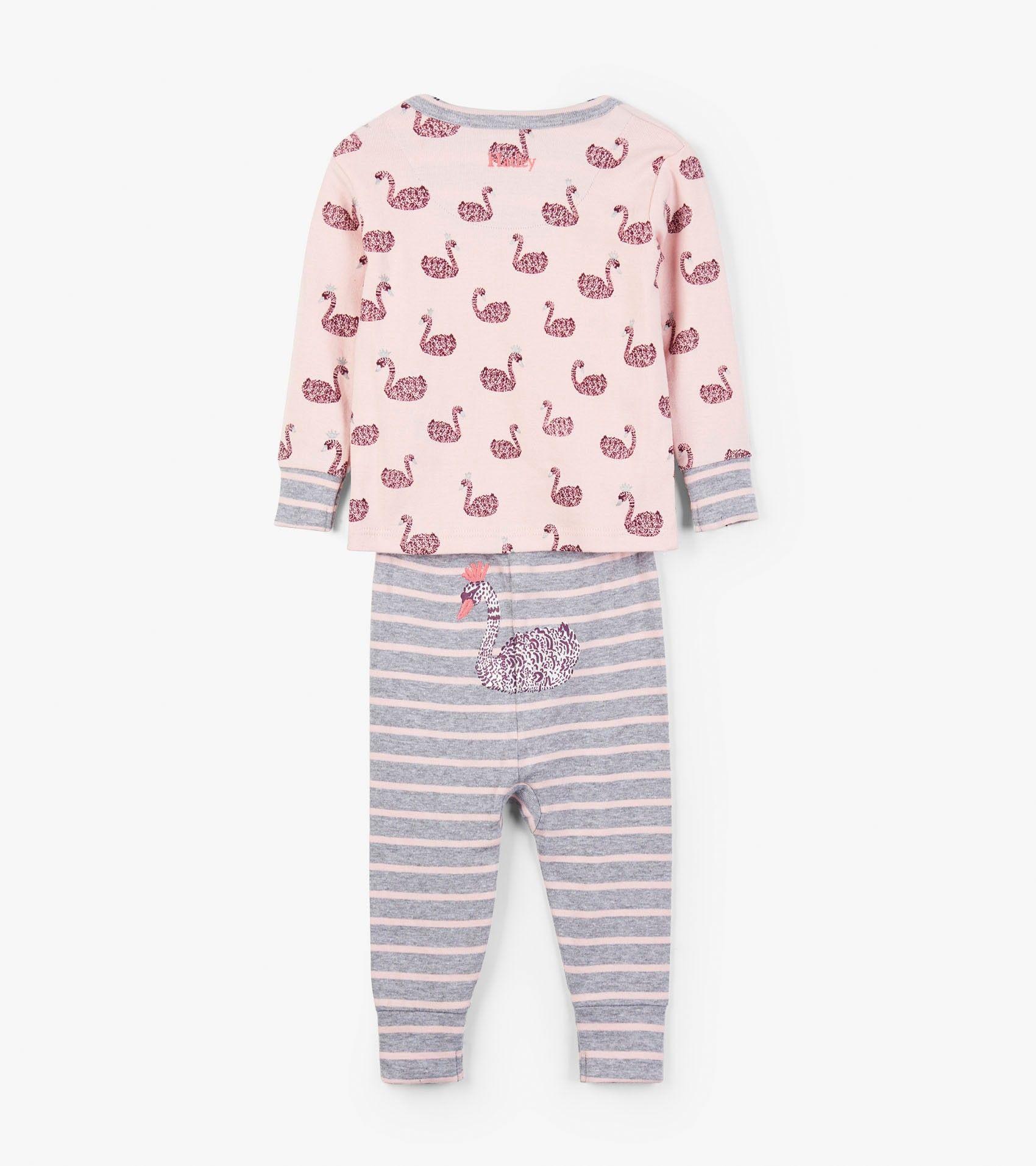 Swan Lake Organic Cotton Baby Pajama Set Sleepwear Categories Baby Girls Hatley Canada Pajama Set Kids Robes Pajamas