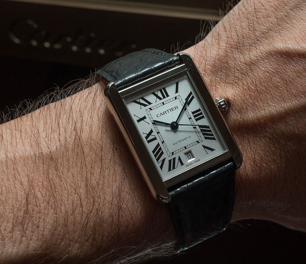 Cost Of Entry Cartier Watches Page 2 Of 2 Ablogtowatch Cartier Watch Cartier Tank Solo Cartier Watches Mens