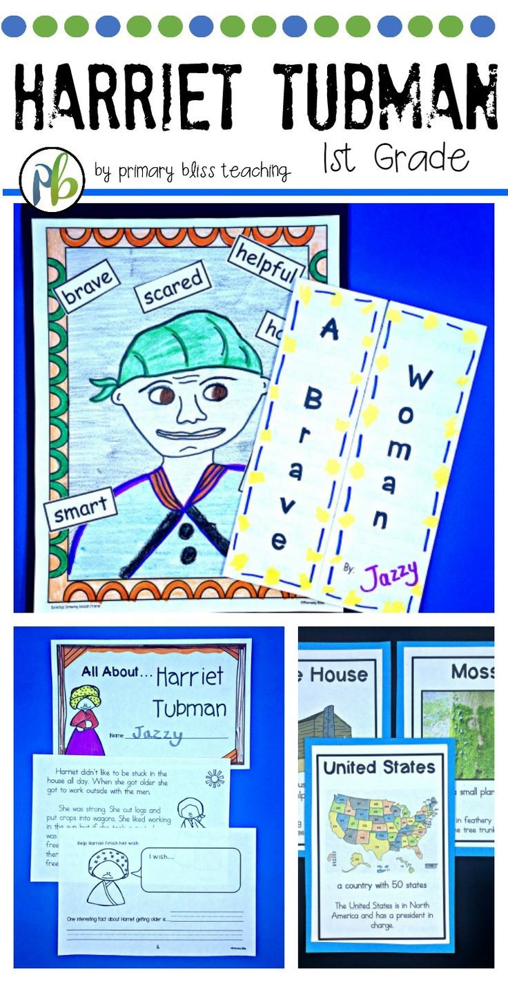 small resolution of Harriet Tubman First Grade (Reading