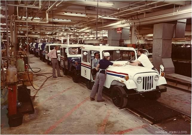 Brief History Dj Series Jeep Jeep Brand Mail Truck