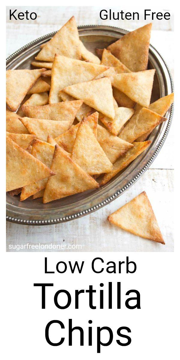 Crispy, crunchy and perfect for dipping! These Keto low carb tortilla chips taste just as good as the real thing, but with a fraction of the carbs.