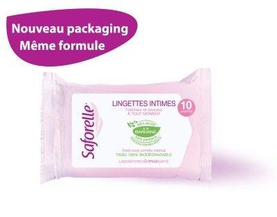 Saforelle Muqueuses Et Peaux Sensibles 10 Lingettes Pharmacie