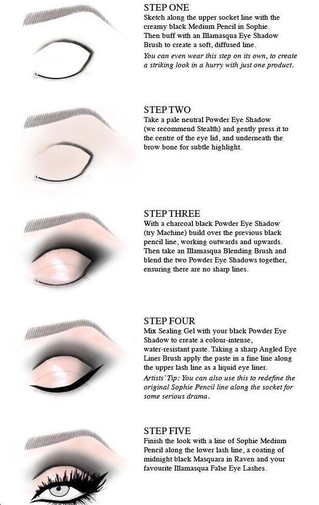 Step by Step Cut crease eyeshadow application | Eye Makeup ...