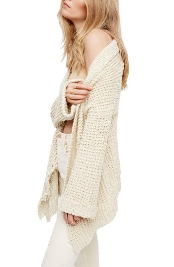 39ce931937 Free shipping and returns on Free People I ll Be Around Cardigan at  Nordstrom.com. Knit in a luxe blend of cotton and silk