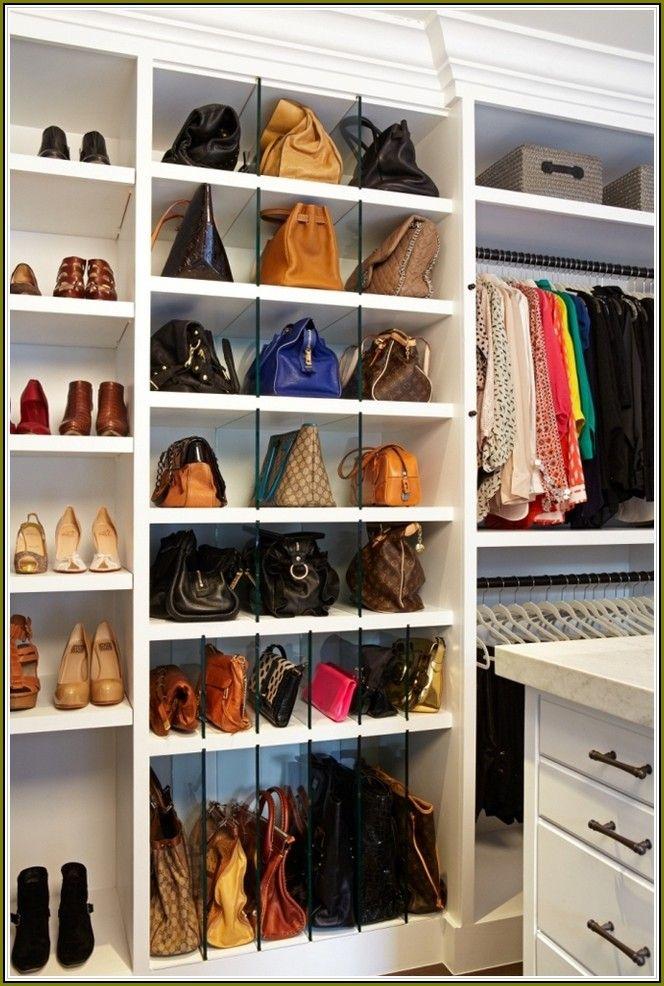Closet Purse Organizer Ideas