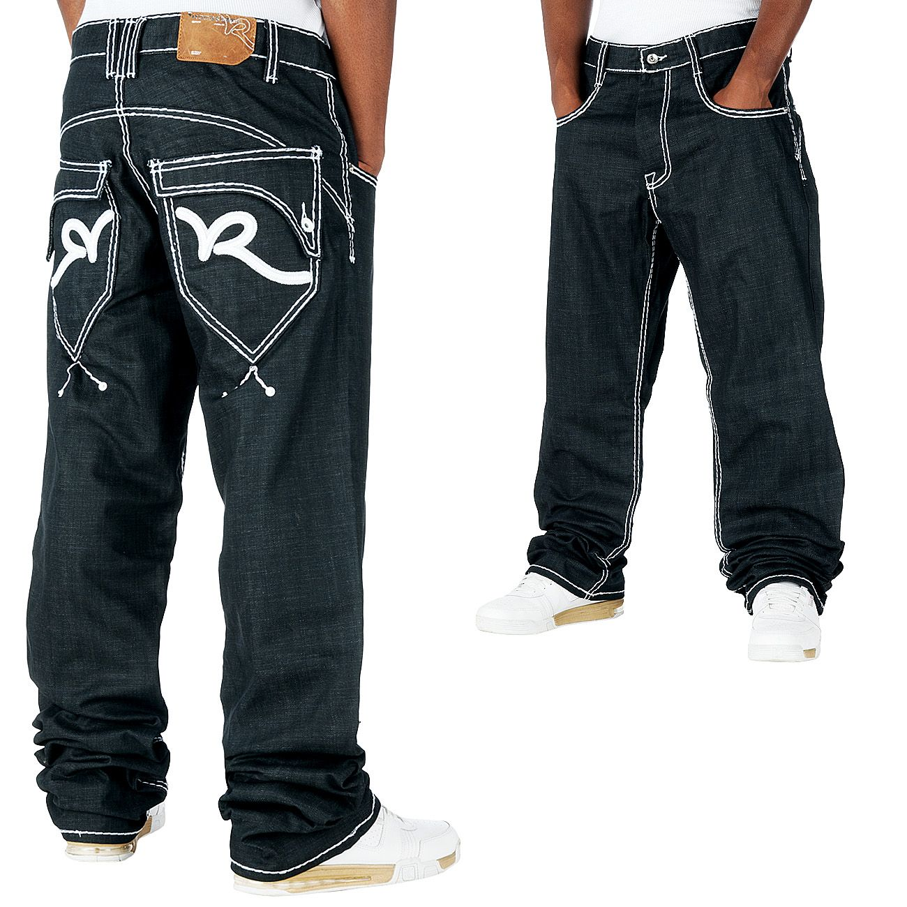 Rocawear Thick Rick Loose Fit Jeans Raw Japan  6c040b950