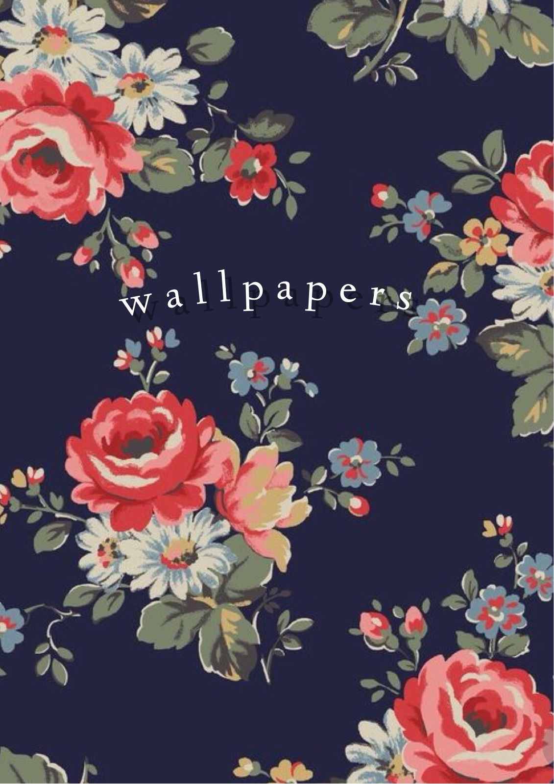 Pin By Charisse Gamble On Wallpapers Floral Wallpaper