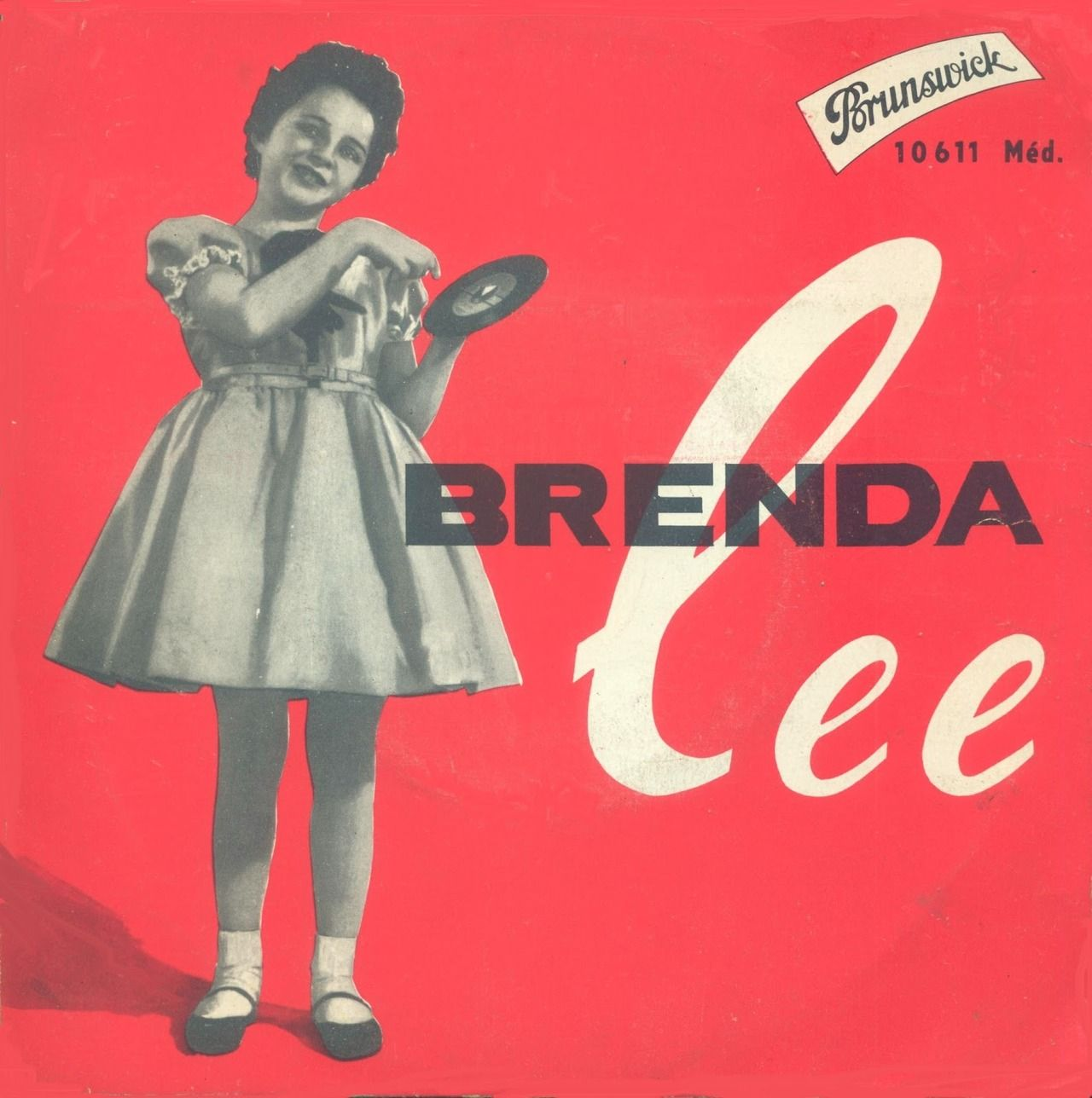 BOOGIE CHILDREN — Brenda Lee Album cover art, Lp cover