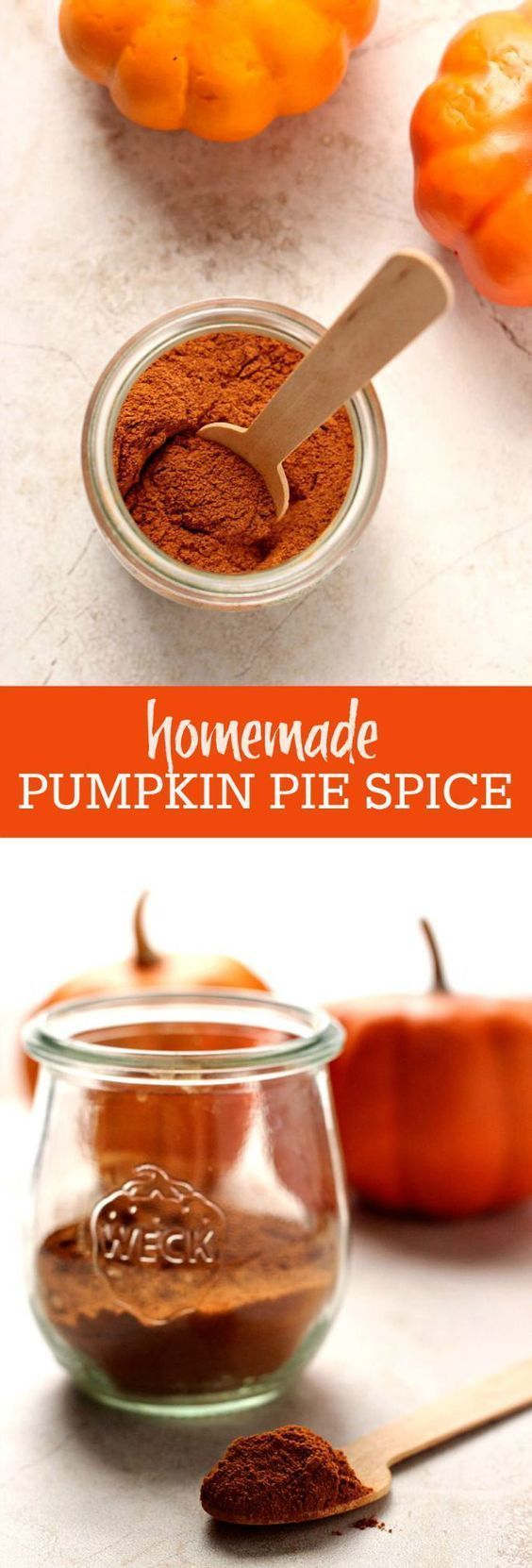 Homemade Pumpkin Pie Spice make your own spice mix in