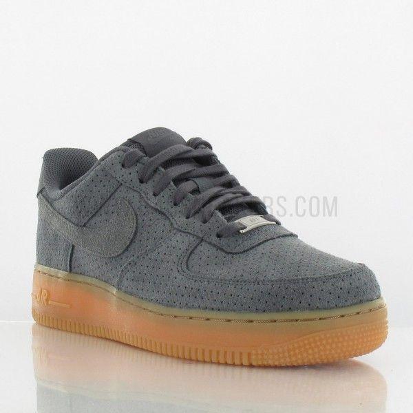 23c14ffa5cc Nike Air Force 1 Suede femme gris 749263-001 (image n°6)