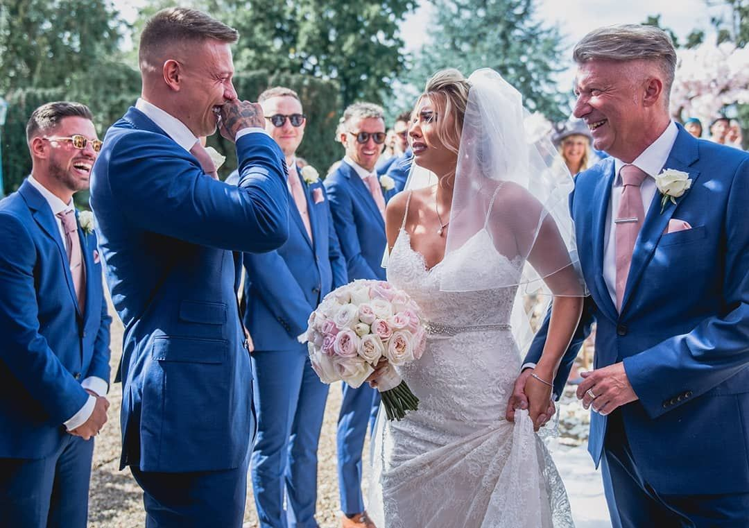 Olivia Buckland And Alex Bowen S Wedding With Images Enzoani