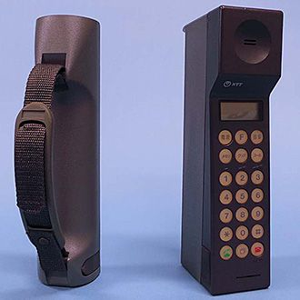 携帯電話NTT TZ-803B
