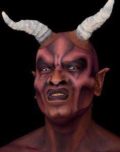 The Devil Face Paint |Tania Mayordomo