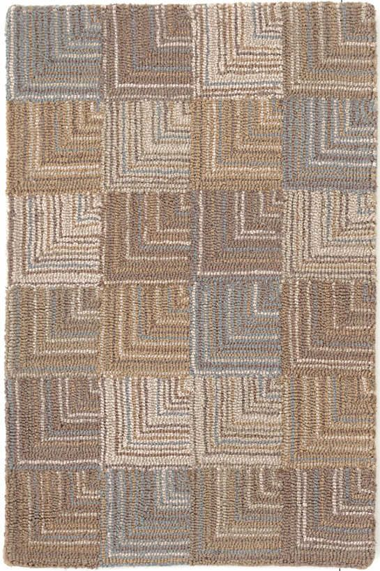 Our Hooked Wool Area Rug Brings Neutral To The Next Level