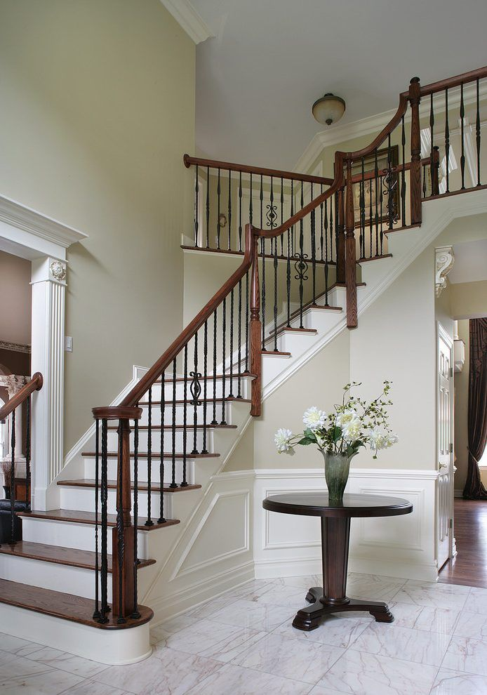 Best Creative Stairs Staircase Traditional With Foyer Mount 400 x 300
