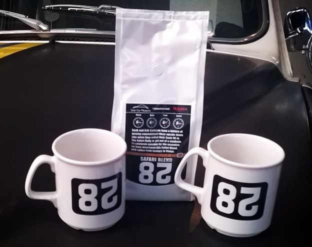 New Safari Coffee Mugs In The Saab Car Museum Http Goo