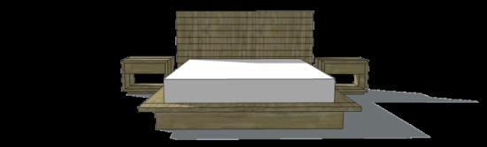 fine woodworking platform bed plans
