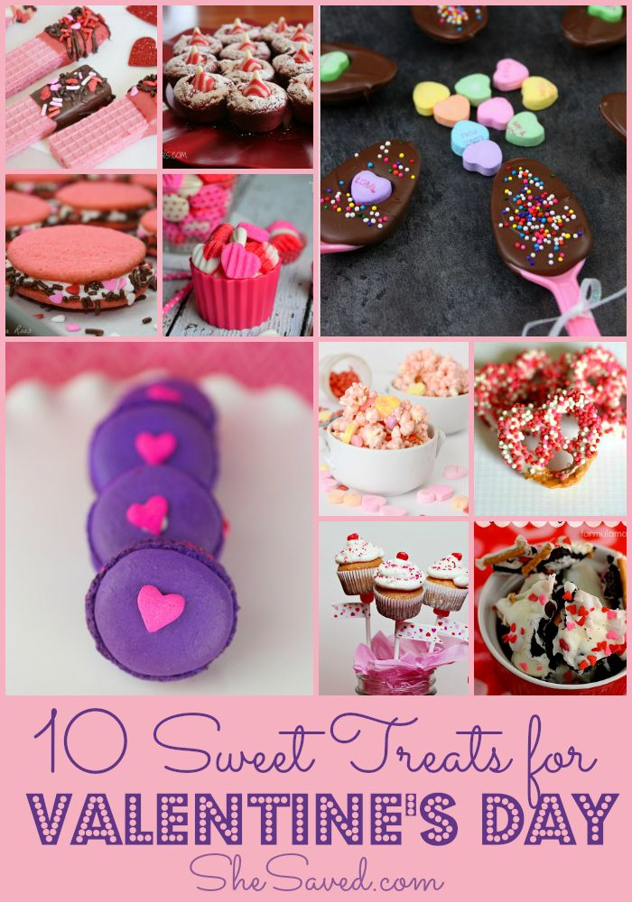 10 Sweet Valentine S Day Treats For Kids Holidays Recipes And